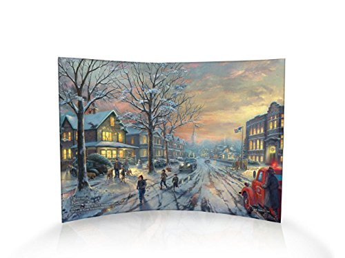 Trend Setters A Christmas Story Curved Acrylic Print - Home Decor Thomas Kinkade Artwork 10