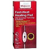 sunbeam 912 - Walgreens Fast-Heat Heating Pad 2021-912