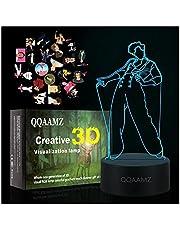 3d Led Nachtlampje Harry Styles Lamp Cadeau Voor Fans Slaapkamer Decor Licht Led Touch Sensor Kleur Veranderende Bureaulamp Harry Styles