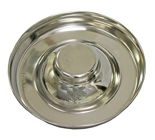 Fuzzy-Puppy-Pet-Products-PS-11-Puppy-Saucer-Dog-Bowl-with-Raised-Center-11