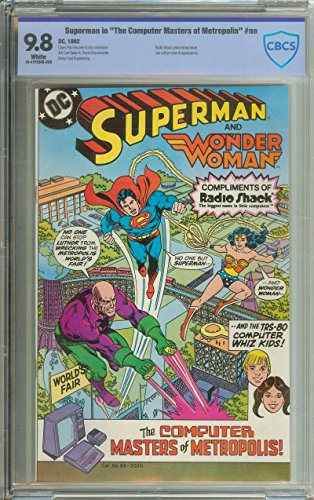 SUPERMAN IN THE COMPUTER MASTERS OF METROPOLIS CBCS 9.8 WHITE PAGES ()