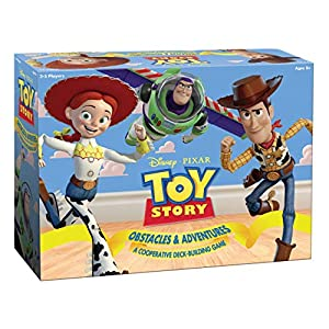 USAopoly USODB004578 Toy Story Obstacles and Adventures-A Cooperative Deck-Building Game