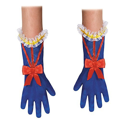 Disguise Costumes Snow White Gloves, Toddler, Size -