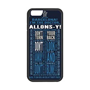 iPhone 4 4s Protective Case - Dr.Who Quotes Hardshell Cell Phone Cover Case for New iPhone 4 4s Designed by HnW Accessories