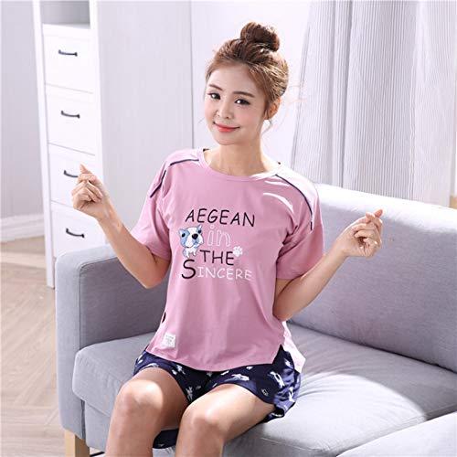 pigiama in tempo il da a notte per Camicie Yslin floreali pezzi libero due x618zWq