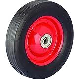 Shepherd Hardware 9590 6-Inch Semi-Pneumatic Rubber Tire, Steel...