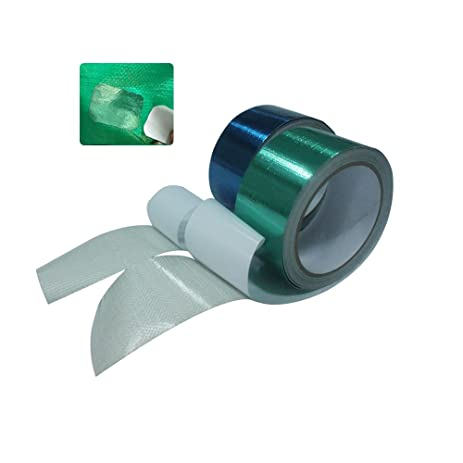 Playdo Waterproof Tent Repair Tape Fabric Repair Tape (Blue)  sc 1 st  Amazon.com & Amazon.com: Playdo Waterproof Tent Repair Tape Fabric Repair Tape ...