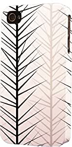 Black & White Tree Pattern Dimensional Case Fits Apple iPhone 5c