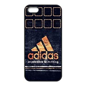 The logo of Adidas Case For HTC One M7 Cover Black Case Hardcore-4