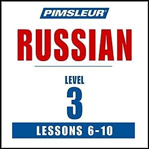 Russian Level 3 Lessons 6-10 Speech