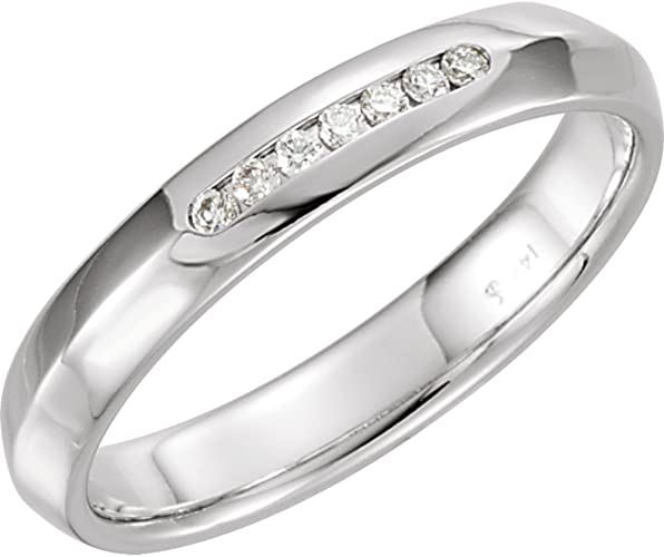FB Jewels Tungsten Hammered Finish Comfort-fit 6mm Wedding Band Ring