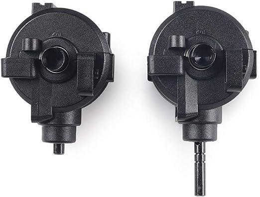 Queenaal Caja de Cambios Delantera/Trasera Juego Completo de transmisión y Engranaje diferencial para HSP 1:10 RC Car Parts (Negro): Amazon.es: Hogar