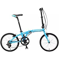 "Sundeal F1 Folding City Urban Travel Bike 20"" Shimano 7 Spd Alloy MSRP $369 NEW"