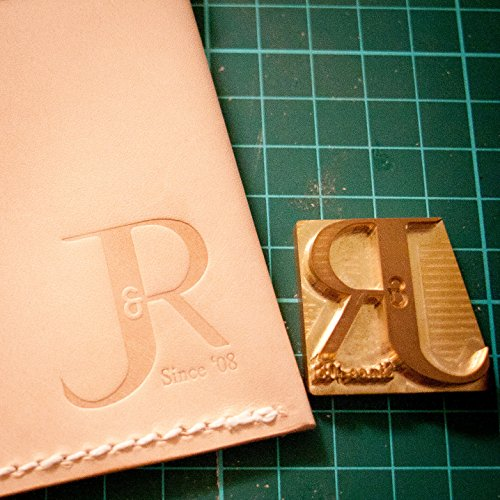 - Custom Leather Stamp for Embossing / Stamping Leather (Up to 10cm2 e.g. 5x2cm, 1.25x1.25 inch)