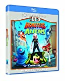 Monsters Vs Aliens 3D [Blu-ray 3D + Blu ray]