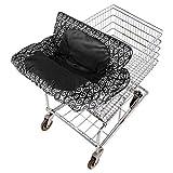 Eddie Bauer Shopping cart Cover, Black/White