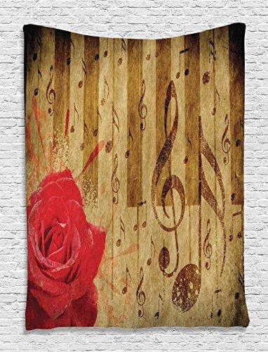 Vintage Tapestry Ambesonne Musical Digital