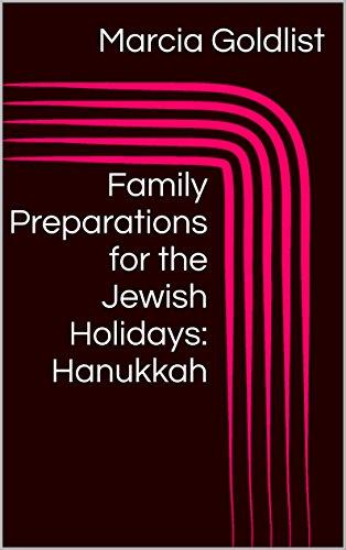 Happy Hanukkah Holiday Card - Family Preparations for the Jewish Holidays: Hanukkah