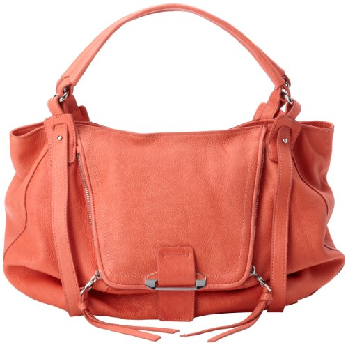 Kooba Jonnie Shoulder Bag,Tangerine,One Size