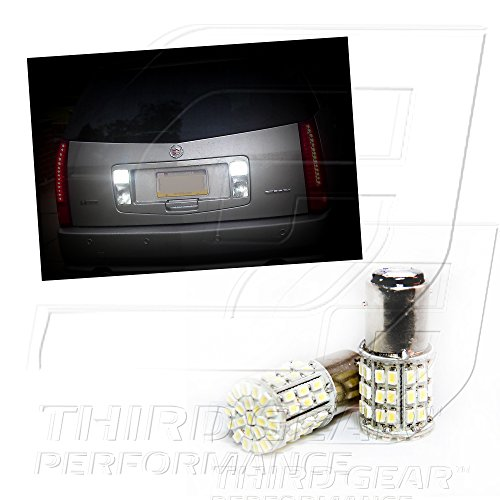 TGP 1156 White 64 LED SMD Reverse/Backup Light Bulbs Pair 1990-2001 Compatible with Acura Integra (ALL)
