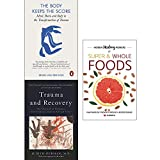 img - for Body keeps the score, trauma and recovery and hidden healing powers 3 books collection set book / textbook / text book