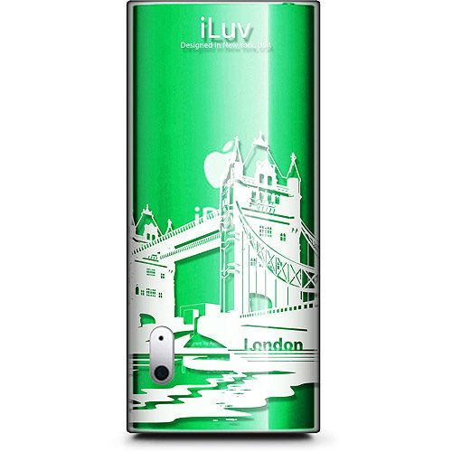 (iLuv Hard Shell Case with City Graphics for iPod nano 5G (Clear with London))