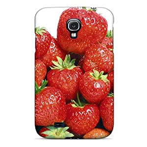 Forever Collectibles Luscious Red Strawberries Hard Snap-on Galaxy S4 Case