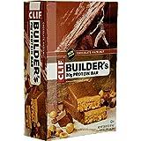 CLIF BUILDER'S - Protein Bar - Chocolate Hazelnut - (2.4 Ounce Bar, 12 Count)