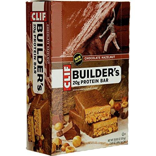 شکلات های بادام زمینی CLIF BUILDER'S سرشار از پروتئین و کربوهیدرات |