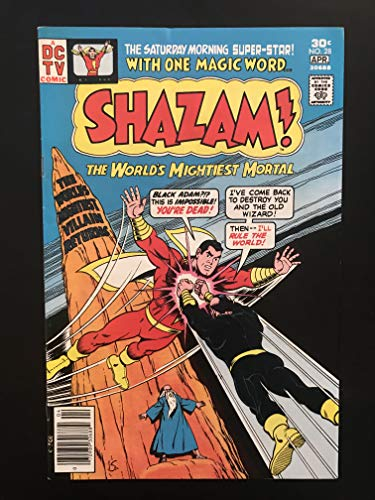 Shazam #28 first printing 1977 DC Comic Book 1st Appearance of Black Adam
