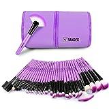 Makeup Brushes Set 32 Pcs By Vander(Purple)