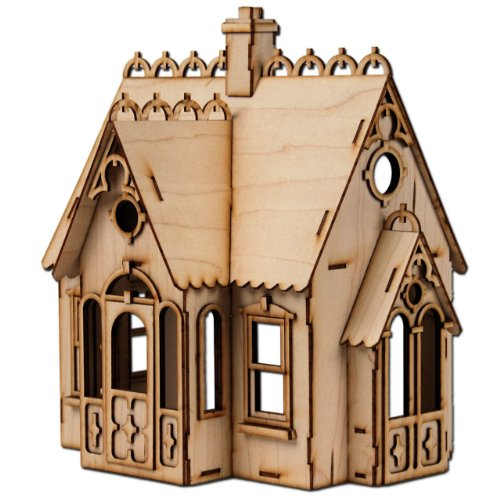 Greenleaf Laser Cut Half Scale Buttercup Dollhouse Kit