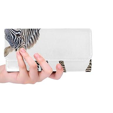 Amazon.com: Bolso de mano con diseño de cebra en color ...