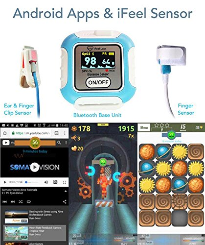 - iFeel Personal Biofeedback Apps System for Phone Tablet Bluetooth