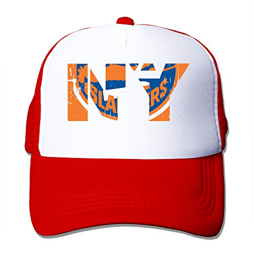 Texhood New York NY Logo Geek Cap Hat One Size Red