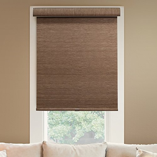 CHICOLOGY Deluxe Free-Stop Cordless Roller Shades No Tug Privacy Window Blind, 46