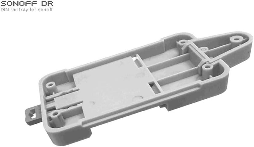 Hotaluyt Sonoff DR Rail DIN Plateau Porte-Case Rail r/églable mont/é sur Rack Solution pour Sonoff Produits