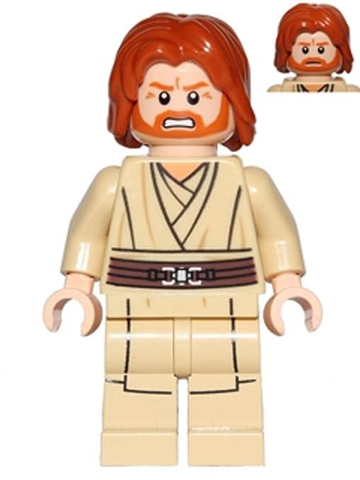 NEW LEGO STAR WARS OBI-WAN KENOBI MINIFIGURE JEDI MASTER 75191 STARFIGHTER Baukästen & Konstruktion LEGO Minifiguren