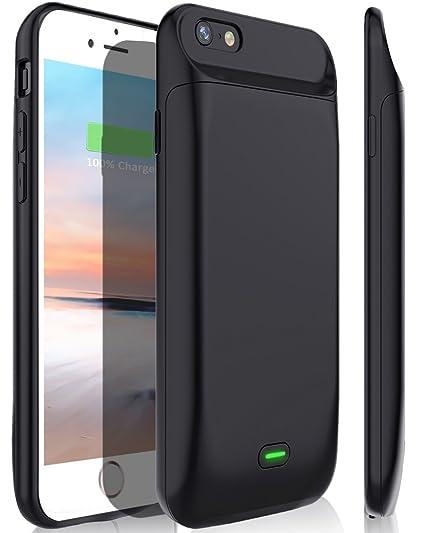 cd65aa721e7 Stoon iPhone 6S/6 Carcasa de batería, 5000 mAh Cargador portátil de Batería  Recargable
