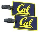 California Golden Bears - NCAA Soft Luggage Bag Tag - Set of 2