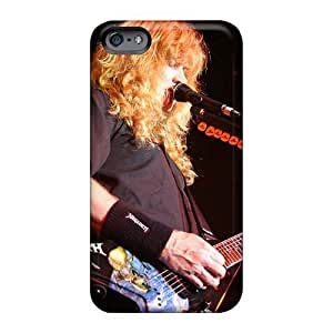 Tpu Case Cover For Iphone 6 Strong Protect Case - Megadeth Band Design