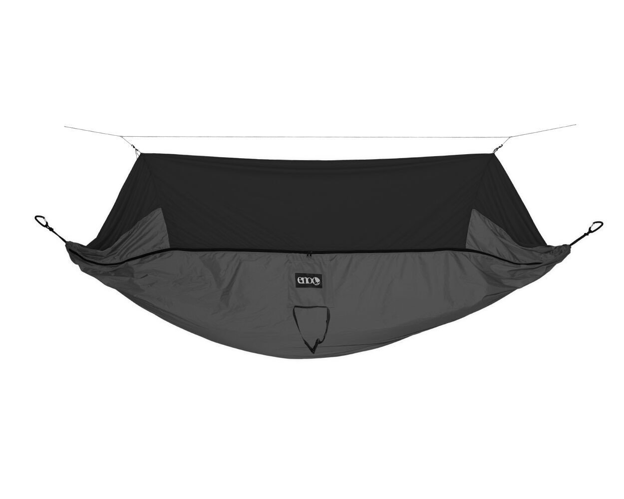 ENO - Eagles Nest Outfitters JungleNest Hammock, Includes Hammock and Bug Net, Grey by ENO