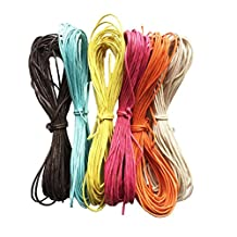 MonkeyJack 10 Meter 1.5mm Waxed Wax Cotton Cord String Thread Wire Jewelry Bracelet Making#4