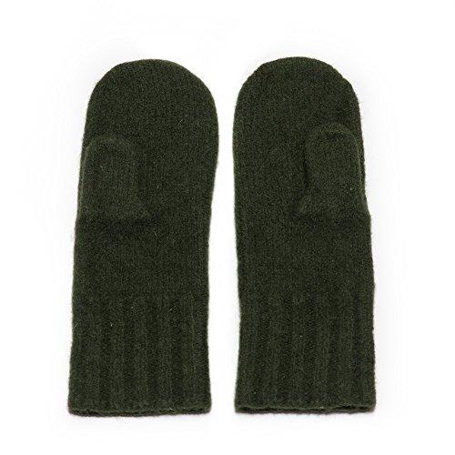 Dachstein Woolwear Wool Mittens (8.0, Green)