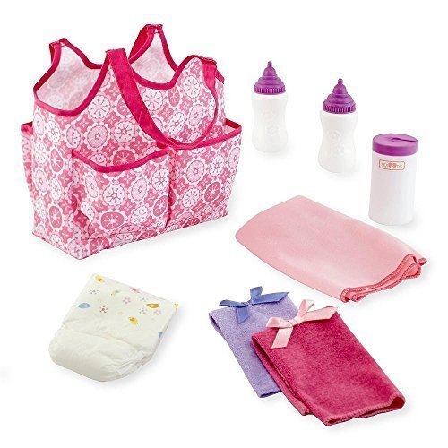 Toys 'R' Us New You & Me Baby Doll Diaper Tote Bag with A...