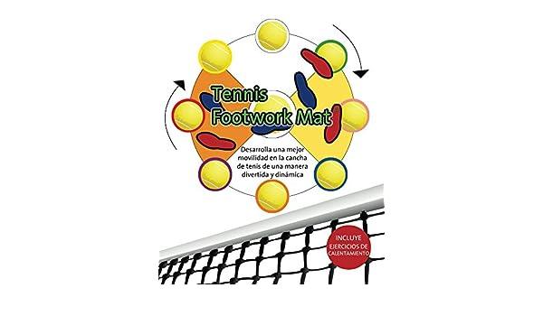 Amazon.com: Tennis Footwork Mat en Español: Desarrolla movilidad en la cancha con una pelota de soccer (Spanish Edition) eBook: Edgar Allegre: Kindle Store