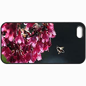 Fashion Unique Design Protective Cellphone Back Cover Case For iPhone 5 5S Case Bee Black