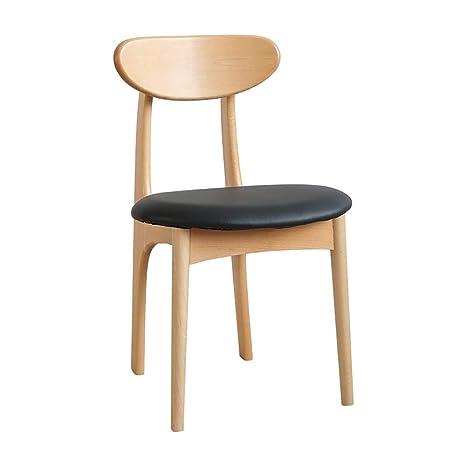 Amazon.com: QYJ-taburete para bar o café, de madera maciza ...