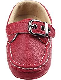 Baby Boys Girls Shoes Crawling Slipper Toddler Infant Soft Leather Pre-Walkers for 0-18months