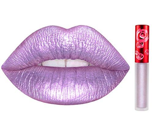 Lime Crime Metallic Velvetines Long Lasting Liquid Matte Lipstick - Seashell Bra
